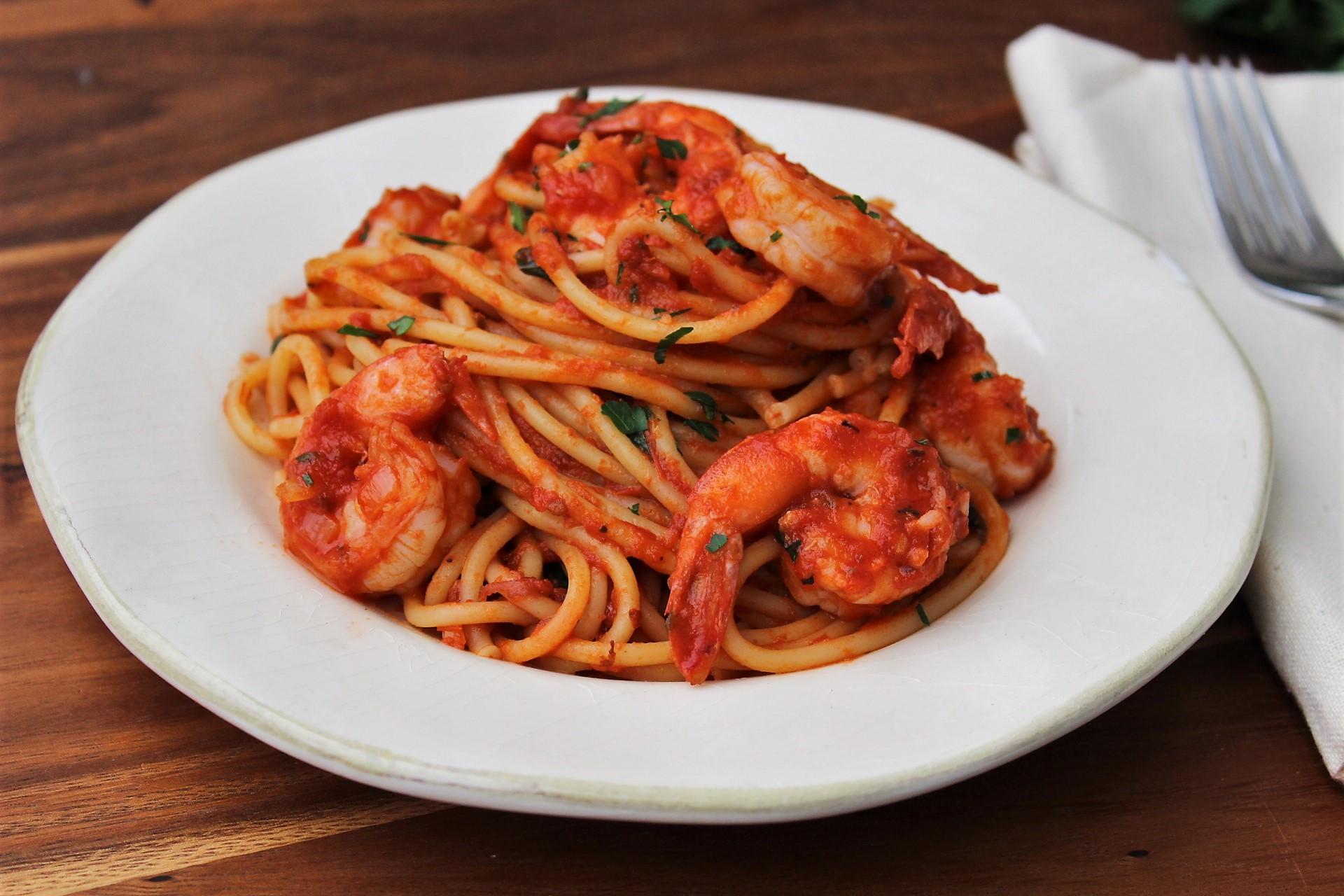 Shrimp Fra Diavolo | Queen City Kitchen
